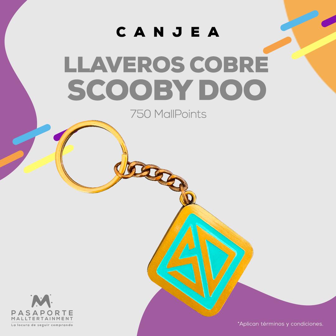 Llavero Cobre Scooby Doo (SD)