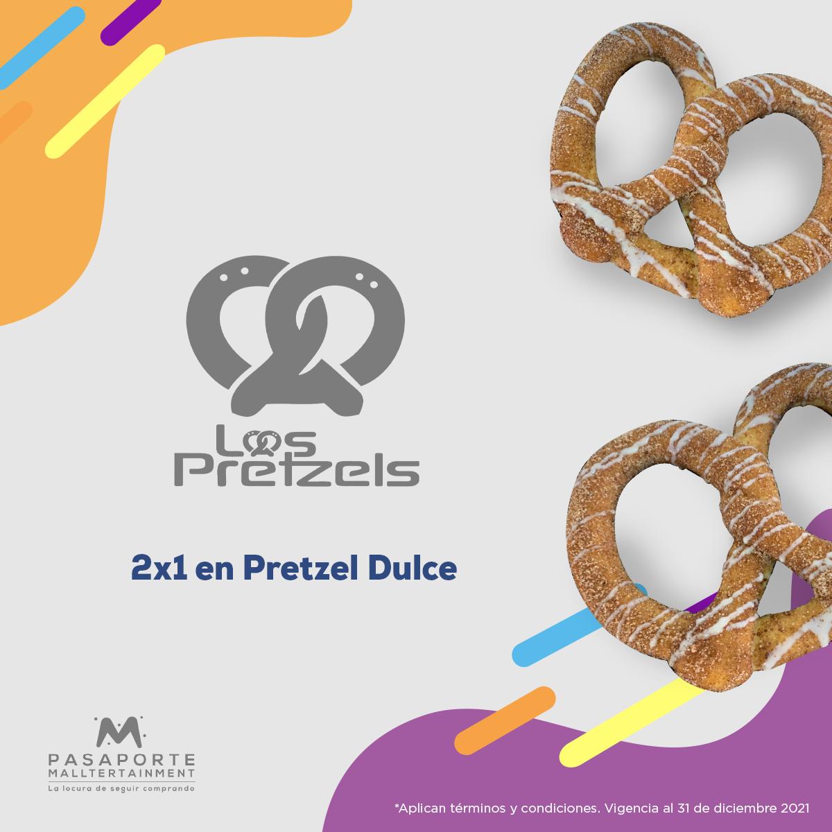 Pretzel original gratis en la compra de pretzel original